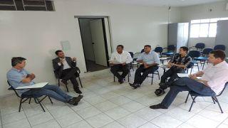 Vereadores participam de reunião com Delegado Regional da Polícia Judiciária Civil