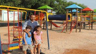 Parquinho infantil beneficia moradores dos Bairros Boa Esperança e Dirceu Maciel