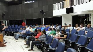 Palestra discute segurança pública e implantação da guarda municipal
