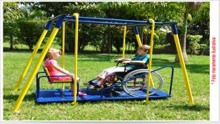 Lei prevê brinquedos adaptados em praças e playgrounds